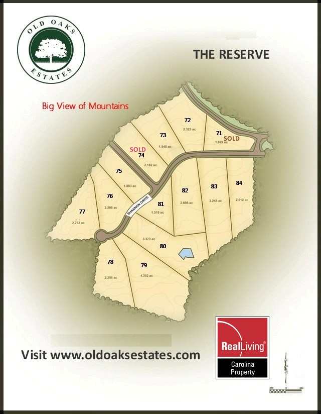 Old Oaks The Reserve MAP 03-26-2017